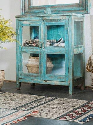 Šedý vzorovaný koberec Tranquillo Home Lucas