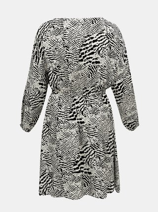 Šedé vzorované šaty ONLY CARMAKOMA