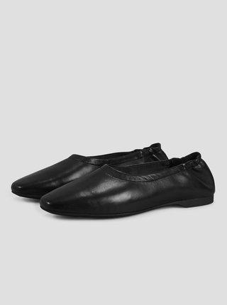 Černé kožené baleríny Vagabond Maddie