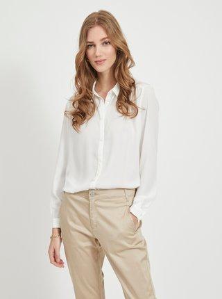 Biela košeľa VILA Lucy