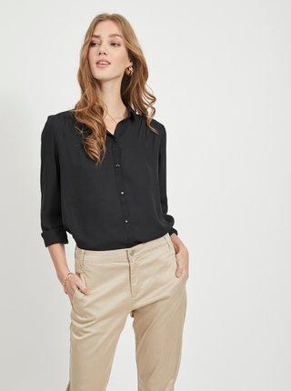 Čierna košeľa VILA Lucy