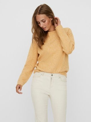 Žltý sveter VERO MODA