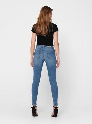 Modré skinny fit džíny ONLY Iris