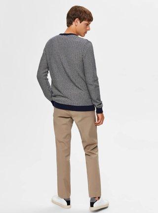 Modrý sveter Selected Homme