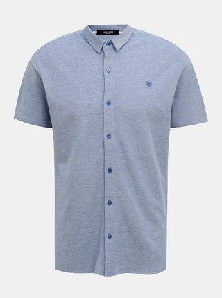 Modrá košeľa Jack & Jones Jace