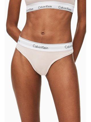 Calvin Klein púdrové tangá Thong