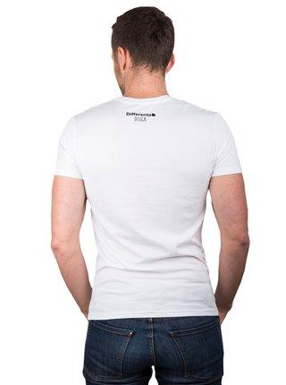 Differenta Design biele pánske tričko Hľadá sa Nemo