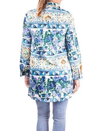 Anany barevné košilové šaty Badalona Azul