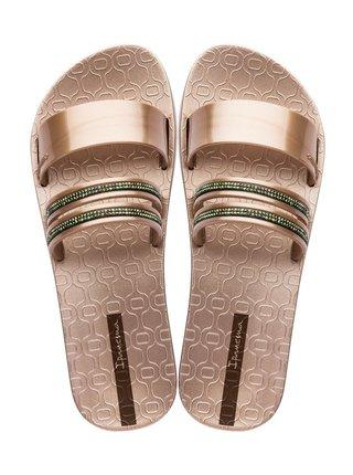 Ipanema bronzové pantofle New Glam Rose