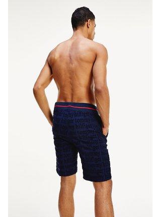 Tommy Hilfiger modré pánské kraťasy Jersey Short Logo Navy Blazer