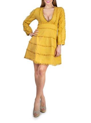 Anany žluté šaty Natal Amarillo