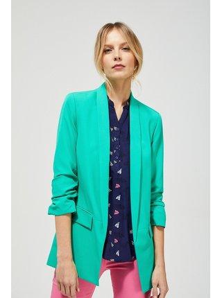 Moodo zelené dámske sako