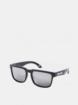 Čierne pánske slnečné okuliare Meatfly Memphis