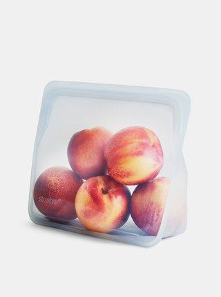 Transparentní silikonový sáček na potraviny Stasher Stand up 1,66 l