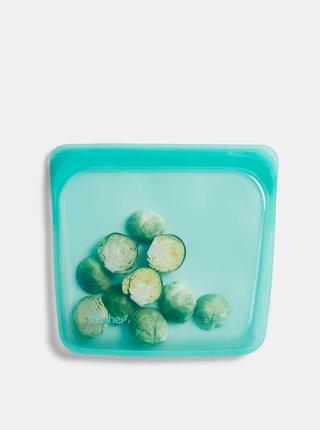 Modrý silikónový sáčok na potraviny Stasher Sandwich 450 ml