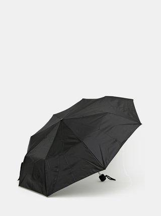 Čierny skladací dáždnik Doppler