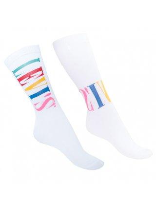 2PACK ponožky Levis bílé