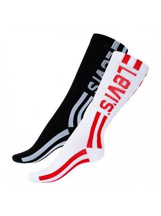 2PACK ponožky Levis vícebarevné