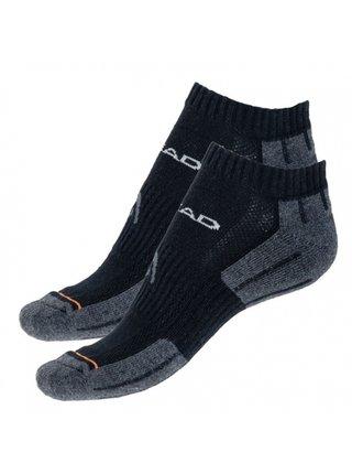 2PACK ponožky HEAD černé