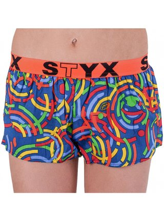 Dámské trenky Styx art sportovní guma vícebarevné