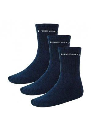3PACK ponožky HEAD navy
