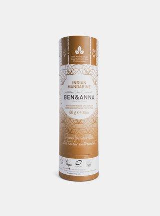 Tuhý deodorant BIO - Indická mandarinka 60 g Ben & Anna