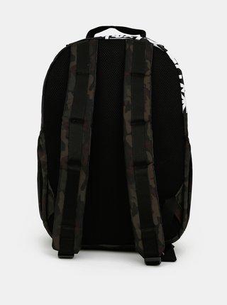Tmavozelený vzorovaný batoh Superdry