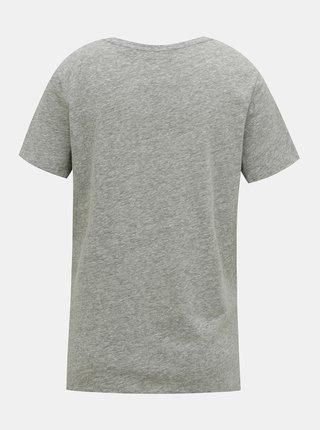Šedé dámske tričko Superdry
