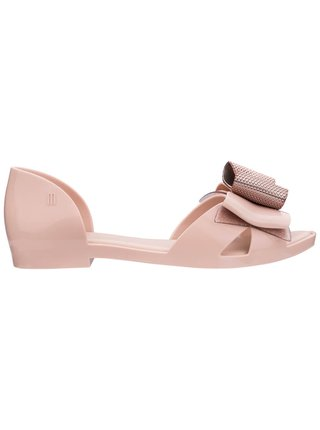 Melissa pudrové sandále Seduction V Light Pink
