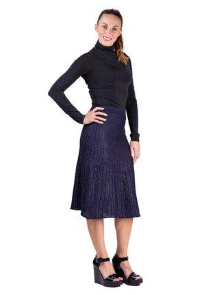 Anany modrá třpytivá sukně Marbella Azul Marino