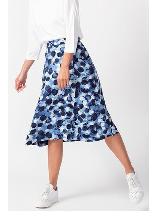 SkunkFunk modrá midi sukně Adats