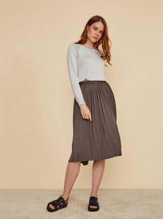 Šedá plisovaná sukňa ZOOT Petra