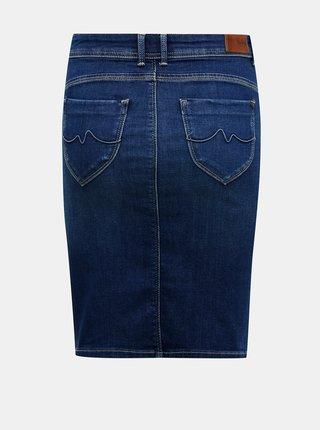Modrá rifľová sukňa Pepe Jeans