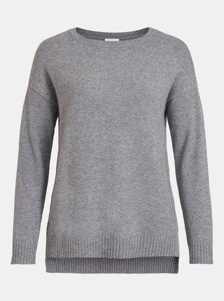 Šedý basic sveter VILA Ril