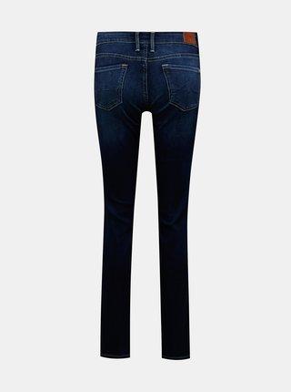 Tmavě modré dámské straight fit džíny Pepe Jeans