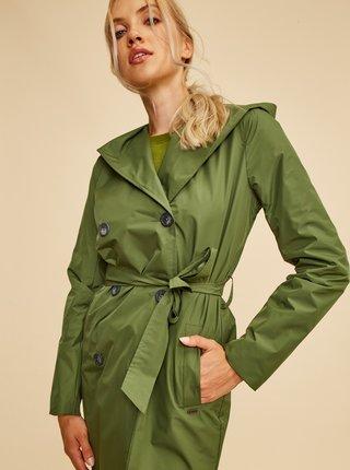 Zelený dámský trenčkot ZOOT Samantha