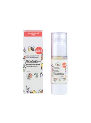 Denní meruňkový krém pro citlivou pleť Bio 30 ml Kvitok