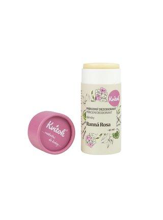 Přírodní tuhý deodorant Ranní rosa 42 ml Kvitok