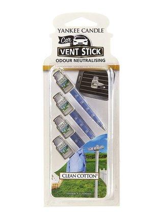 Yankee Candle vonné kolíčky do auta Clean Cotton
