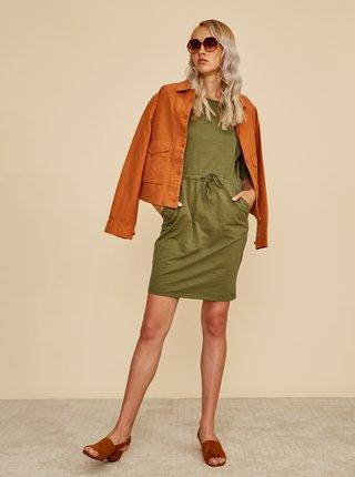 Zelené basic šaty ZOOT Baseline Darina