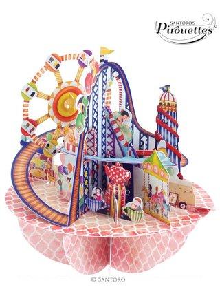 Santoro papírová 3D dekorace Fairground