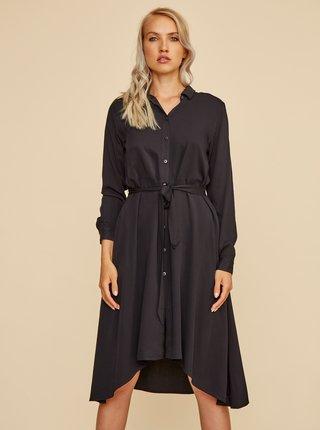 Černé košilové šaty ZOOT Colly