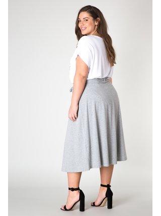 Yesta sivá dámska dlhá sukňa Josje