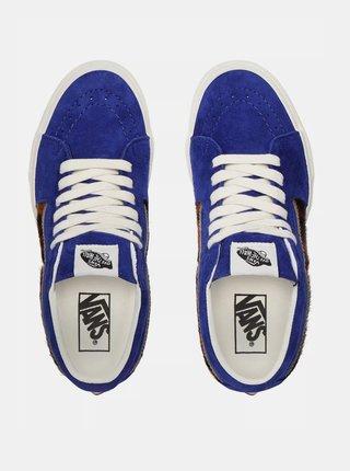 Modré dámské semišové tenisky VANS