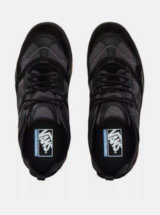 Černé dámské tenisky s koženými detaily VANS Varix