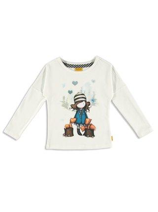 Santoro biele tričko The Foxes