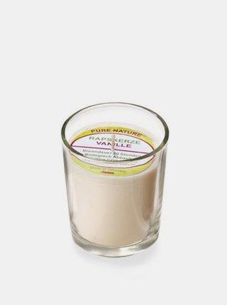 Svíčka ve skle přírodní - vanilka 65 g Stuwa