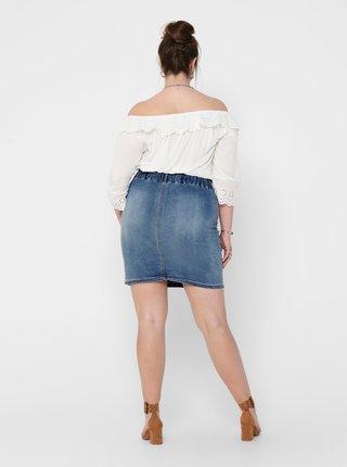 Modrá džínová sukně ONLY CARMAKOMA Amy