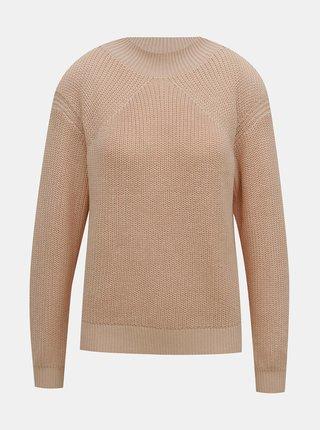 Růžový svetr Selected Femme Sira