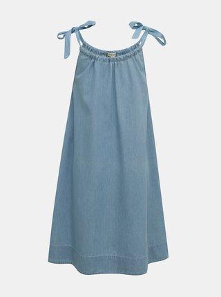 Modré šaty Selected Femme Novo